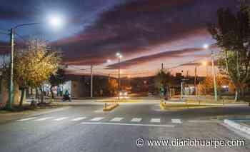 Rivadavia: luces LED y derivadores para los vecinos de Villa del Carmen - Diario Huarpe