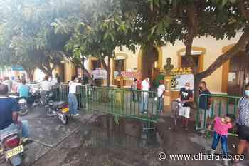 Protestan en Alcaldía de Sabanalarga por persecución sindical - EL HERALDO