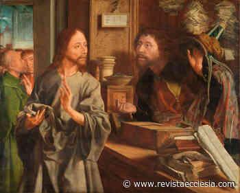 REPORTAJE ECCLESIA: Marinus de Reymerswale y la vocación de san Mateo - Ecclesia Digital