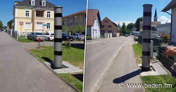Neue stationäre Blitzer in Kenzingen und Vörstetten aufgestellt - baden.fm