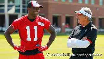 Arthur Blank: I'm deeply grateful for what Julio Jones did for our team