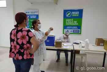 Recife abre novo local de vacinação contra a Covid-19 e Olinda amplia imunização para moradores a partir de 50 anos - G1