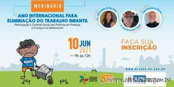 Olinda abre inscrições gratuitas para Webnário sobre eliminação do trabalho envolvendo crianças e adolescentes - Prefeitura de Olinda