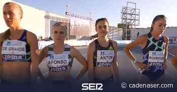 Celia Antón logra su mejor marca del año en el 'milqui' - Cadena SER