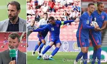 Jordan Henderson set to face Gareth Southgate's wrath after taking a penalty off Calvert-Lewin