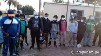 Pescadores piuranos perdidos en mar de Pisco fueron hallados con vida lrnd - LaRepública.pe
