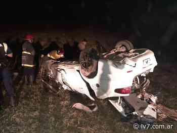 Malvivientes habrían provocado el vuelco de un automóvil en San Cayetano – LV7 - LV7 Radio Tucumán