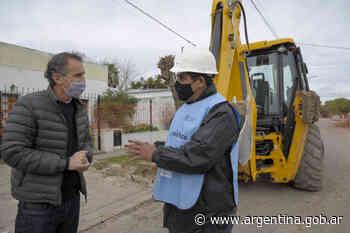 Buenos Aires: Katopodis recorrió obras en Gonzales Chaves, San Cayetano y Tres Arroyos - Argentina.gob.ar Presidencia de la Nación