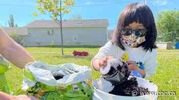 Children gather in Charlottetown to learn about gardening with limited space - CBC.ca