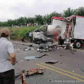 Dos muertos en accidente en la vía Ventanas-Puebloviejo, en Los Ríos - Ecuavisa