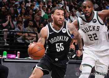 Nets Notes: Mike James Ready and Able in Game 1