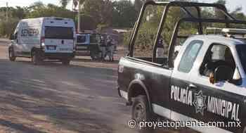 Acribillan a hombre en ejido Cruz de Piedra en Empalme; el asesinato se registró este domingo previo a las elecciones 2021 - Proyecto Puente