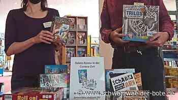 Mediathek in Schramberg - Spiele sollen helfen gegen den Lockdown-Frust - Schwarzwälder Bote