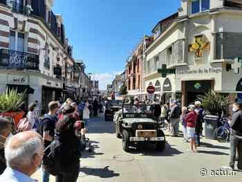 EN IMAGES. Anniversaire du Débarquement : la foule à Ouistreham pour le défilé - Le Liberté Caen - Bonhomme Libre