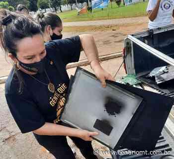 Campanha de coleta de lixo eletrônico prossegue em Lucas do Rio Verde - CenárioMT