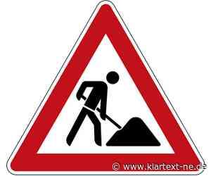 L381: Bauarbeiten an der Rochusstraße in Korschenbroich | Rhein-Kreis Nachrichten - Klartext-NE.de