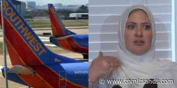 Muslim Woman Files Complaint Against Southwest Airlines After Being Barred From Exit Row Over Hijab - Comic Sands