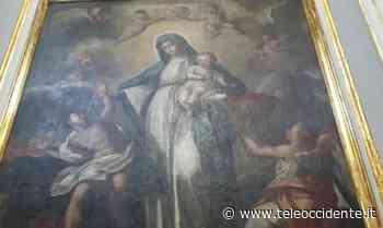 Partinico, restaurata tela dell'ottocento e testi sacri (VIDEO) - Tele Occidente