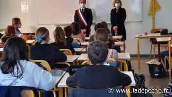 Rabastens. Nicolas Géraud en visite au collège Puysegur - ladepeche.fr