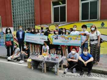 """Cinisello Balsamo, gli studenti realizzano il primo murale """"mangia smog"""". Successo del concorso lanciato da Engie e Comune - Nord Milano 24"""