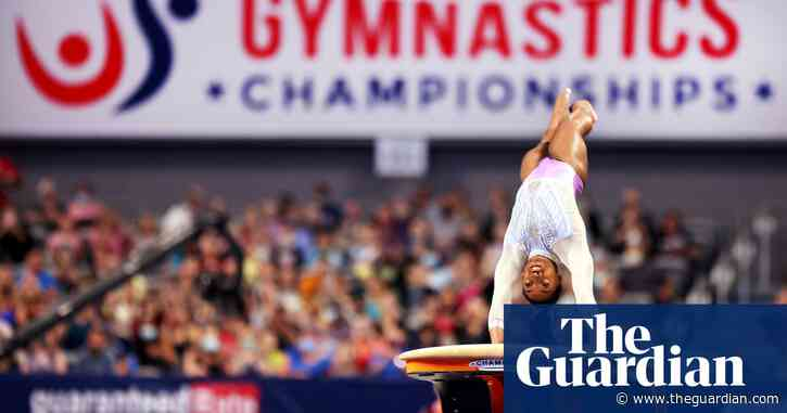 Simone Biles dazzles to claim seventh US gymnastics title with stunning ease
