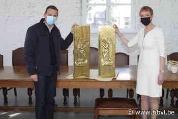 Geschonken tabernakel krijgt ereplaats in het gemeentehuis - Het Belang van Limburg