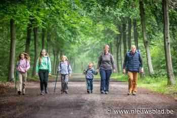 Gezin uit Lummen maakt grootste wandelvereniging van België en Nederland