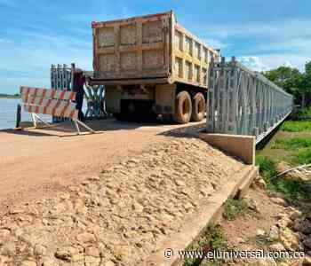 Realizan prueba de carga a puente de Magangué   EL UNIVERSAL - Cartagena - El Universal - Colombia
