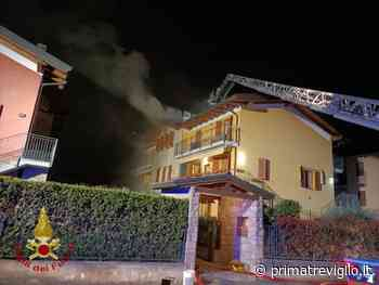 Spirano, tetto in fiamme in via Kennedy. Esplode una palazzina a Torre de'Roveri - Prima Treviglio