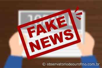 Fake News: Comércios em Ouro Fino não terão restrições a partir deste sábado (5) - Observatório de Ouro Fino