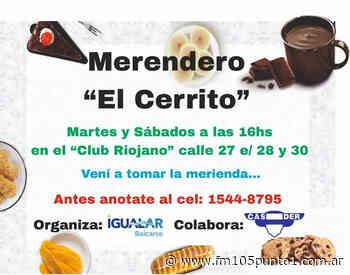 """Merendero """"El Cerrito"""" empezará a funcionar el próximo martes en el Club El Riojano - Informese Primero"""