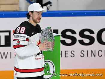 Andrew Mangiapane leads Canada to gold, named MVP of world championship tournament - Melfort Journal