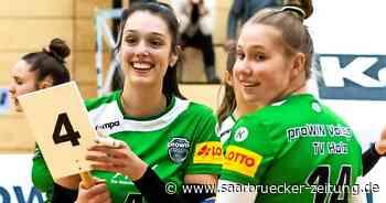 Stella Nalbach spielt mit dem TV Holz in der 2. Volleyball-Liga Süd - Saarbrücker Zeitung