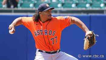 Garcia earns 5th straight victory as Astros down Jays to take rubber match