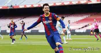 Lionel Messi vor Unterschrift beim FC Barcelona - danach zu Inter Miami? - SPORT1