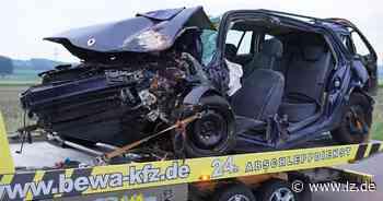 Weiterer schwerer Unfall auf Ostwestfalenstraße am Freitagabend | Lokale Nachrichten aus Bad Salzuflen - Lippische Landes-Zeitung