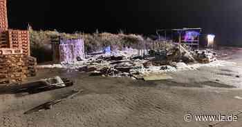 Palettenstapel brennt in Bad Salzuflen | Lokale Nachrichten aus Bad Salzuflen - Lippische Landes-Zeitung
