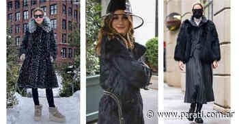 Olivia Palermo nos muestra cómo llevar el tapado de eco piel con mucho estilo (ítem esta temporada) - Para Ti