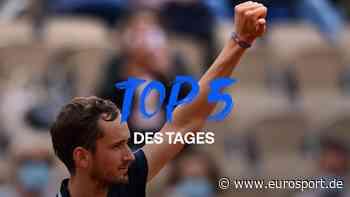 French Open - Top 5 des Tages: Daniil Medvedev lässt ihn segeln - Casper Ruud gewinnt Mega-Rally - Eurosport DE