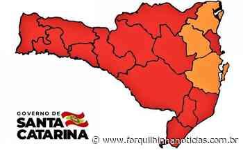 Covid-19: Sul de SC permanece em risco gravíssimo - Forquilhinha Notícias