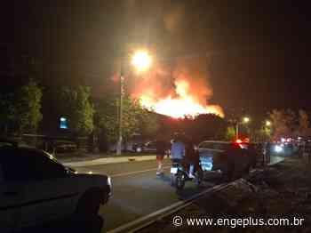 Incêndio em empresa de thinner já mobiliza guarnições de Forquilhinha e Araranguá - Engeplus