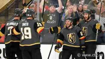 Marchessault's hat trick propels Vegas to win over Colorado