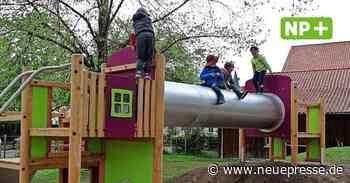 Sehnde: Spielplatz Bolzum hat neue Klettertürme und Sandkasten - Neue Presse
