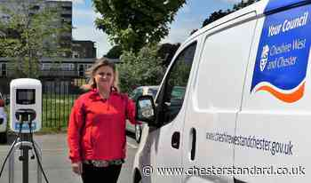 Dozens of new Cheshire West and Chester electric vehicle charging points installed - The Chester Standard