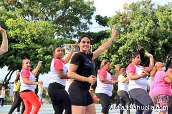FOTOS| Diputada Lorena Fuentes participa en actividades recreativas en Santa Ana - Diario La Huella