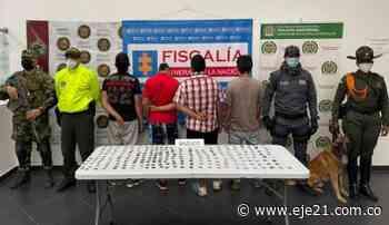Fiscalía Seccional Risaralda desmanteló nueve organizaciones de microtráfico en tres meses - Eje21