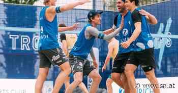 Volleyball: Laurenz Leitner tritt in die Fußstapfen seines Vaters - Salzburger Nachrichten