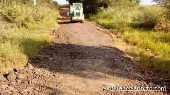 Prefeitura de Tuneiras do Oeste recupera estradas rurais - Folha De Cianorte