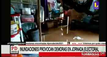 Yurimaguas: pobladores no pueden acudir a votar tras perder sus documentos de identidad tras inundación - Diario Perú21