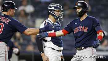 With weekend sweep, Red Sox bring out flaws of Yankees